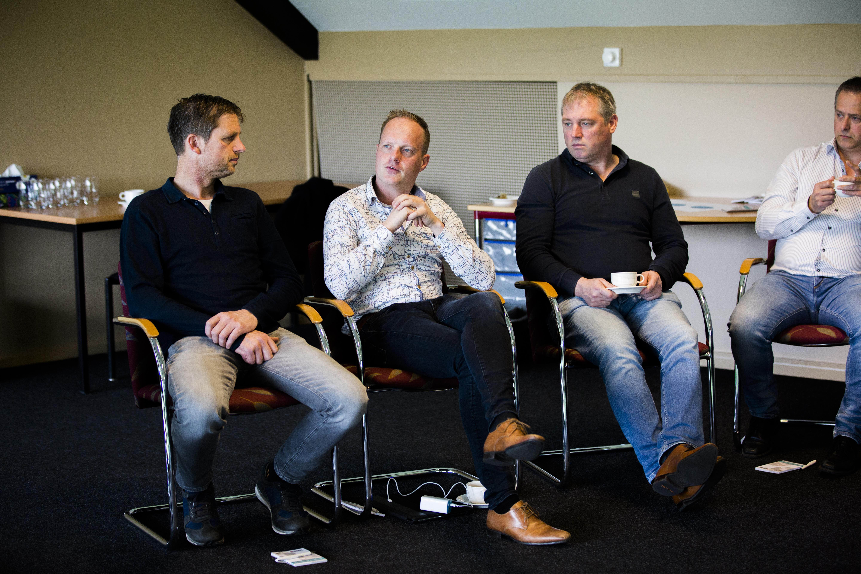 Ben Bruurs werkt, samen met Ruud Pothoven, aan een mobiele slachterij