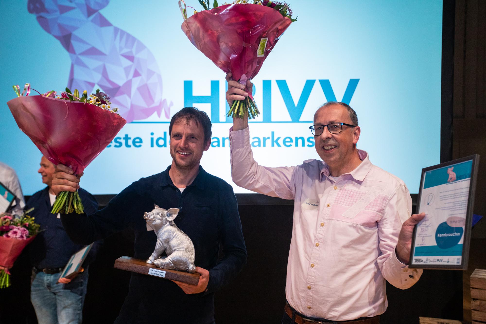 Winnaars HBIVV 2019: Ben Buurs en Ruud Pothoven